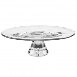 Galaxy Pedestal Cake plate 12 in.
