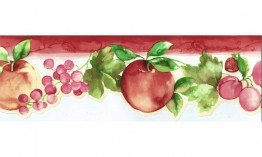 Apple and Grapes KT77908DC Wallpaper Border