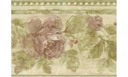 Moss Rose Vine NRB4821 Wallpaper Border