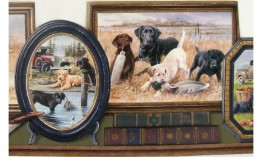 Hunting Dogs PT18113 Wallpaper Border