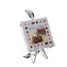 Cookbook Stand Table Top Spoon
