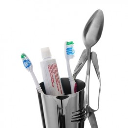 Toothbrush Cup Holder Spoon