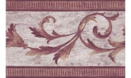 Bordo White Vintage Molding SR26104B Wallpaper Border