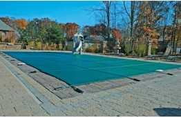 16' X 32' Arctic Maxx Mesh Rectangular Safety Pool Cover