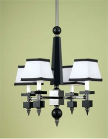 Cluny Mini Chandelier AF Lighting 7474-4H