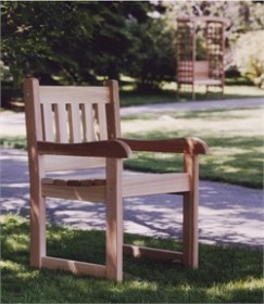 Red Cedar Arm Chair - All Things Cedar AC22U