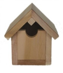 Red Cedar Birdhouse - All Things Cedar BH08U