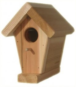 Red Cedar Birdhouse - All Things Cedar BH09U