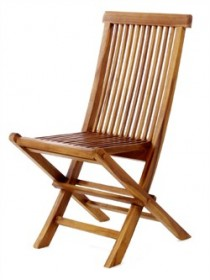 Teak Wood Folding Chair - All Things Cedar TF22