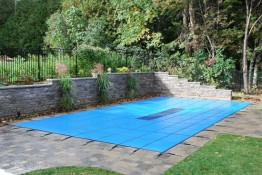 16' X 32' Solid Arctic Maxx Elite Rectangular Safety Pool Cover