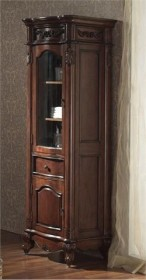 Avanity Provence Linen Tower in Antique Cherry Finish PROVENCE-LT24-AC (Shipping Included)