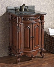 "Provence Vanity Set 24"" in Antique Cherry - Avanity PROVENCE-VS24-AC (Shipping Included)"