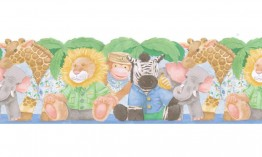 Animals JFM2841DB Wallpaper Border