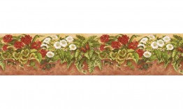 Floral NS7722B Wallpaper Border