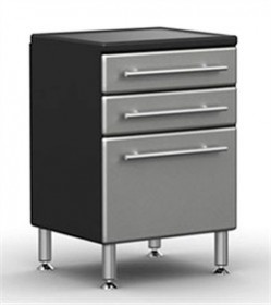 Ulti-MATE Garage PRO 3 Drawer Base Cabinet GA-04PC