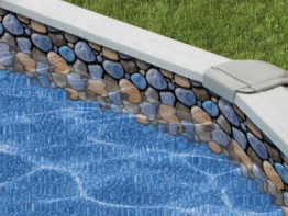30' Round Stoney Bay Overlap Swimming Pool Liner