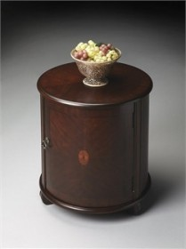 Plantation Cherry Drum Table - Butler Specialty 1260024 (Shipping Included)