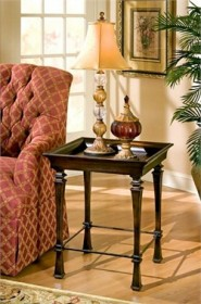 Designer's Edge Tray End Table - Butler Specialty 1462035 (Shipping Included)