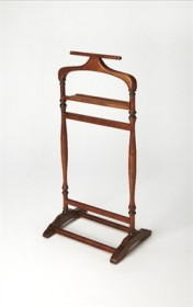 Judson Olive Ash Burl Valet Stand - Butler 1926101 (Shipping Included)