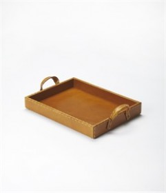 Leather Serving Tray - Butler Specialty 3574016 (Shipping Included)