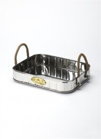 Stainless Steel Serving Tray - Butler Specialty 3587016 (Shipping Included)