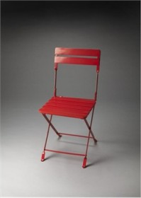 Industrial Chic Folding Chair - Butler Specialty 4236293 (Shipping Included)