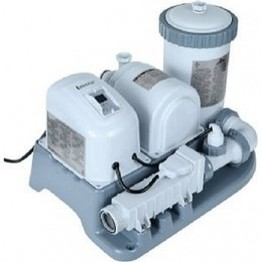 2000 GPH Filter Pump with Chlorine Generator