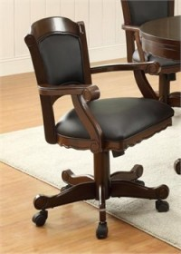 Casual Brown Game Chair - Coaster 100872