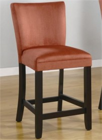 Casual Cappuccino Parsons Dining Chair in Terracotta - Coaster 101493 (Set of 2)