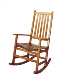 Oak Porch Rocker - Coaster 4511
