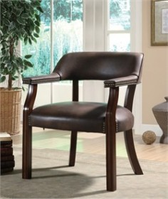 Brown Office Guest Chair - Coaster 513BRN