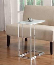 Chrome Snack Table - Coaster 900250
