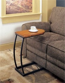 Transitional Oak Accent Table - Coaster 900279