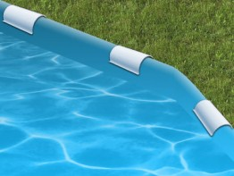 24' Round Solid Blue Re-Lining Kit For Round Tubular Framed Pools