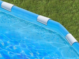 24' Round Bubble Sunlight Re-Lining Kit For Round Tubular Framed Pools