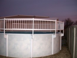 A - Resin Swimming Pool Fence Kit (Base Kit A)
