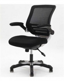 Edge office chair, mesh seat, mesh back - EEI-594-BLK