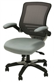 Edge office chair, mesh seat, mesh back - EEI-594-GRY