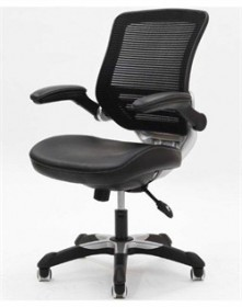 Edge Leatherette Office Chair - EEI-595-BLK