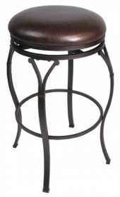 "Lakeview 24.5"" Backless Swivel Counter Stool - Hillsdale 4264-828 (Shipping Included)"