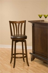 "Savana  26"" Swivel Counter Stool in Cherry - Hillsdale 4495-826"