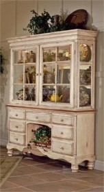 Wilshire Buffet & Hutch - Hillsdale Furniture 4508BH (Shipping Included)