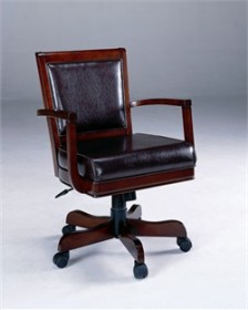 Ambassador Caster Game Chair - Hillsdale Furniture 6124-801B