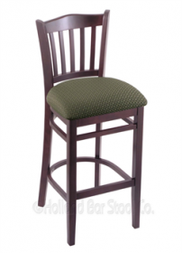 "(Shipping Included) Holland Hampton 3120  30"" Stool /w Dark Cherry Finish, Axis Grove Seat 312030DCAxsGrv"