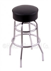 (Shipping Included) Holland C7C1 Classic Bar Stool 25 Inch C7C125BlkVinyl