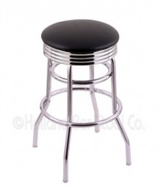 (Shipping Included) Holland C7C3C Classic Bar Stool 25 Inch C7C3C25BlkVinyl