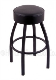 (Shipping Included) Holland C8B1 Classic Bar Stool 25 Inch C8B125BlkVinyl