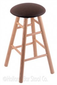 (Shipping Included) Holland RC24OSNatReiCof Oak Counter Stool in Natural Finish /w Rein Coffee Seat