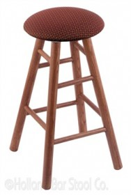 (Shipping Included) Holland RC30OSMedAxsPap Oak Bar Stool in Medium Finish /w Axis Paprika Seat
