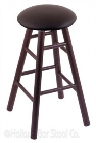 (Shipping Included) Holland RC36OSDCALEspr Oak Extra Tall Bar Stool in Dark Cherry Finish /w Allante Espresso Seat
